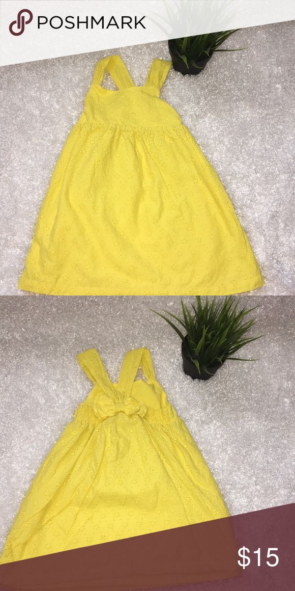 Yellow sun dress size 2T Koalakids brand Size 2T Color yellow  With flower design and solid yellow lining Koala Kids Dresses Casual
