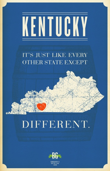 Kentucky is...