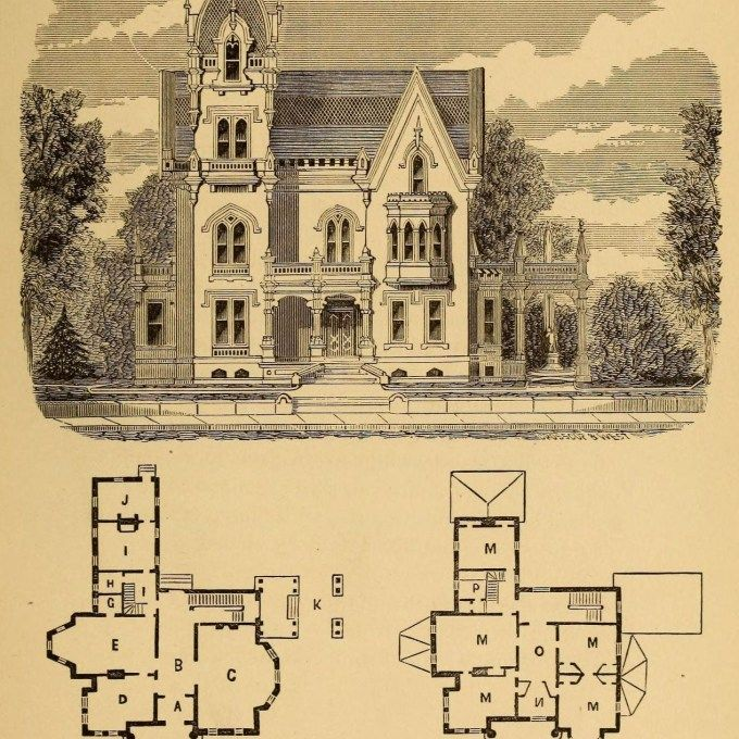 Https Www Achildsplaceatmercy Org Image Design For A Suburban Residence Gothic Revival Except Victorian House Plans Farmhouse Floor Plans Mansion Floor Plan