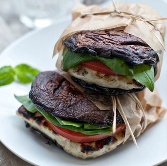#9 – Portabella halloumi burgers mushroominfo [h/t wisemindhealthybody] Well, there you have it. Need I say more? Try one or two of these on for size and I bet youll forget all about your old buddy bread. Could I dare say that these might be the best ideas since…sliced bread? Article originally published on RealFarmacy.com