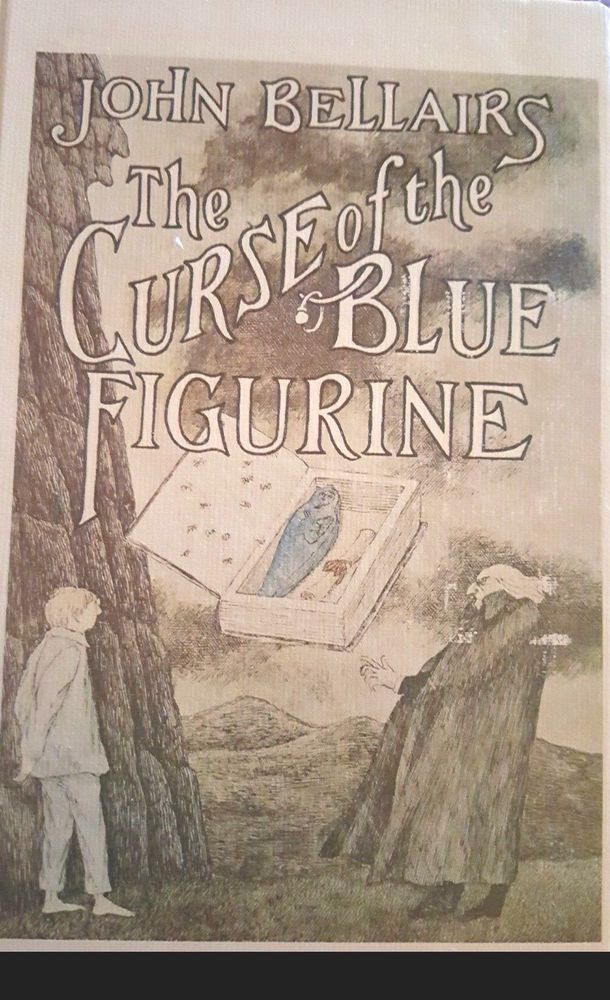The Curse Of The Blue Figurine Hardcover Hardcover Used Books Figurines