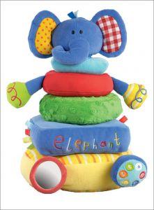 Elephant Stacking Toy
