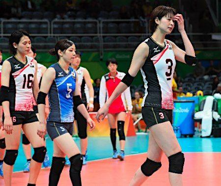 日本女子3敗目=バレーボール :フォトニュース - リオ五輪・パラリンピック 2016:時事ドットコム