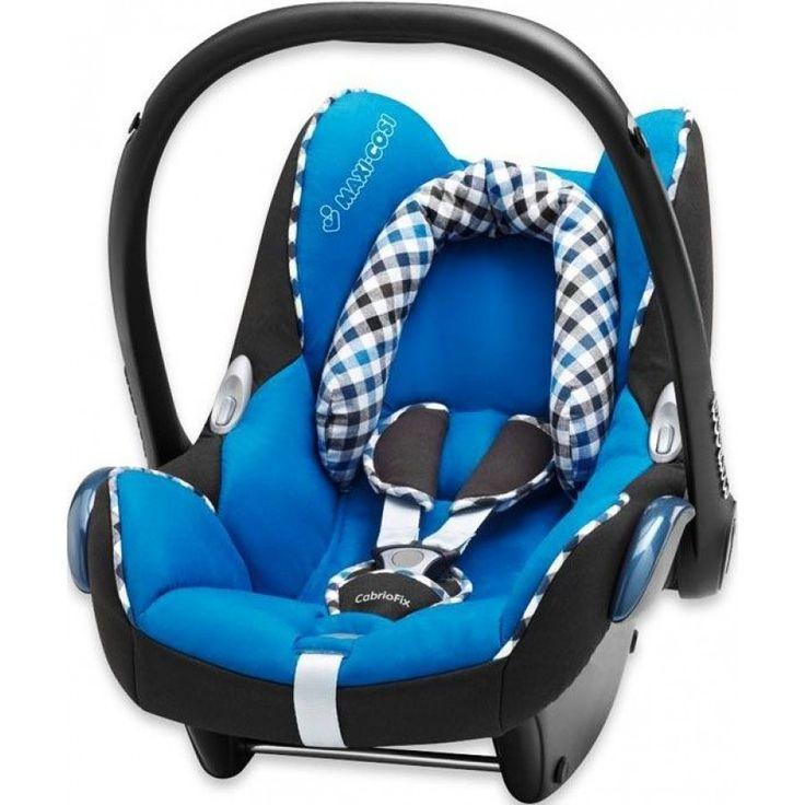 Maxi-Cosi Cabriofix Ana Oto Kucağı Checker Bluee