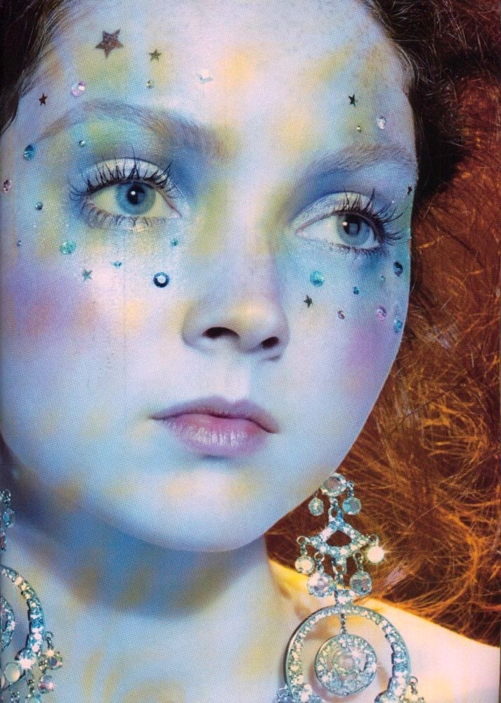 Lily Cole: Redheadslili Cole, Halloween Costumes, Redheads Lilies Cole, Makeup Artists, Editorial Models, Lily Cole, Crystals Faeries Makeup, Fairies Makeup, Dolls Faces