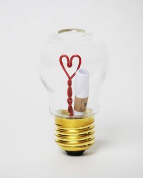 Send love messages in a light bulb. With this proof of love, you will enchant your partner & your loved ones. Whether as a gift for the Val …