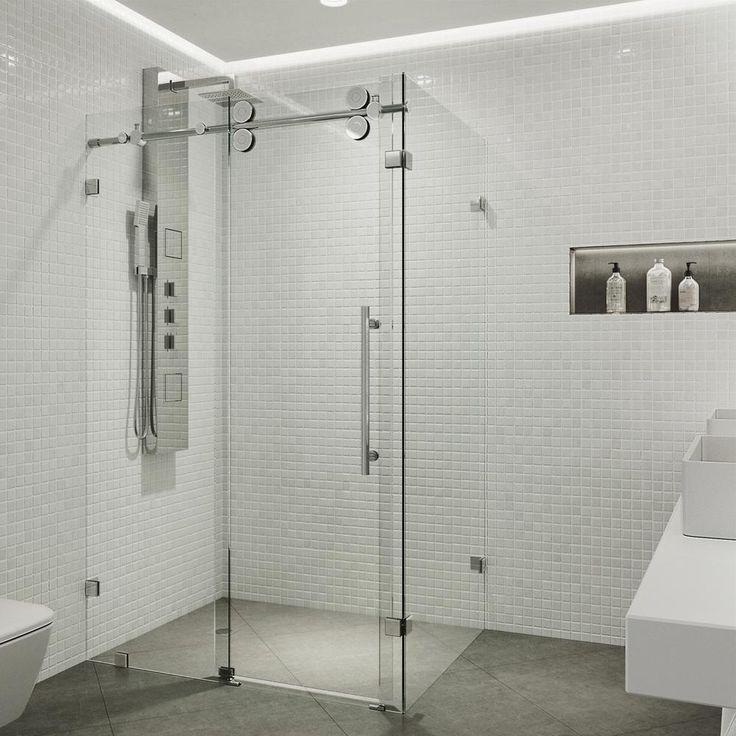 Vigo Vg605148 Frameless Shower Enclosures Shower Enclosure