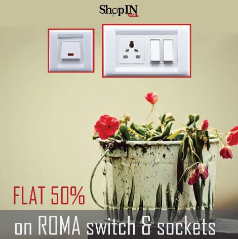 Buy Anchor Roma Switches & Sockets At Unbelievable Lowest Price On ShopINdeal