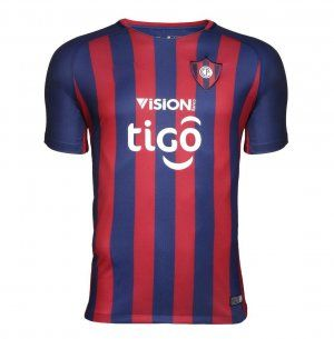 18-19 Cheap Jersey Cerro Porteno Home Replica Red Shirt