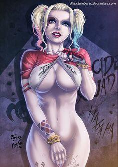 Harley Quinn by diabolumberto