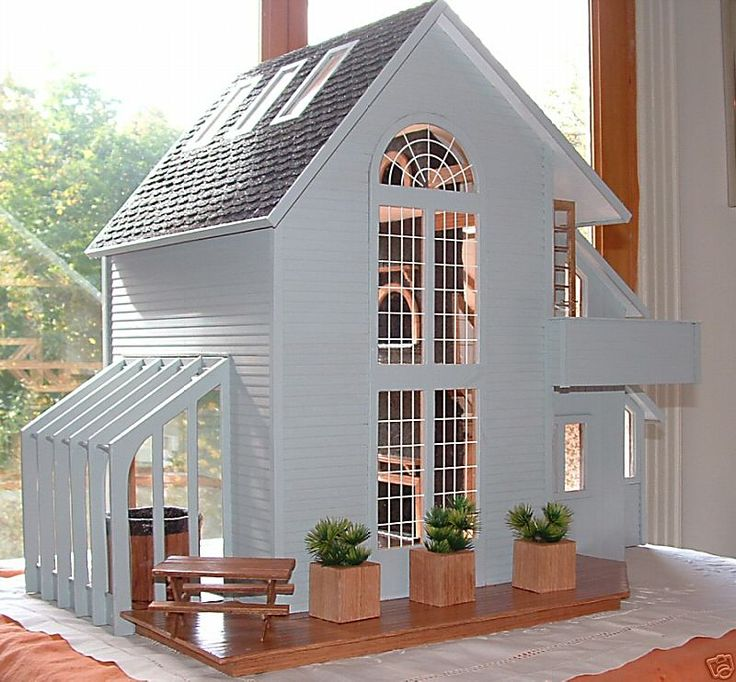 My Dream Dollhouse: Beautiful Contemporary Dollhouse - The Brookwood