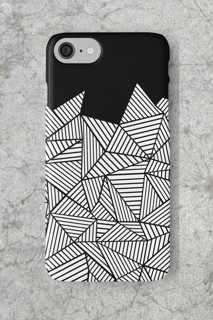 Ab Mountain Black Phone Case Inspired By My Large Scale Painting