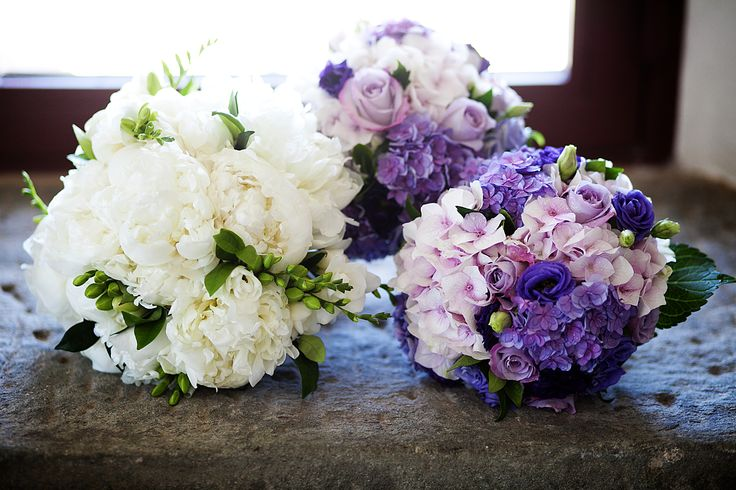 Bouquets.. for the Bride and the Bridesmaids