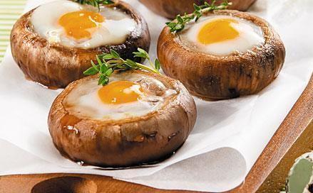 Шампиньоны с перепелиными яйцами. Обсуждение на LiveInternet - Российский…