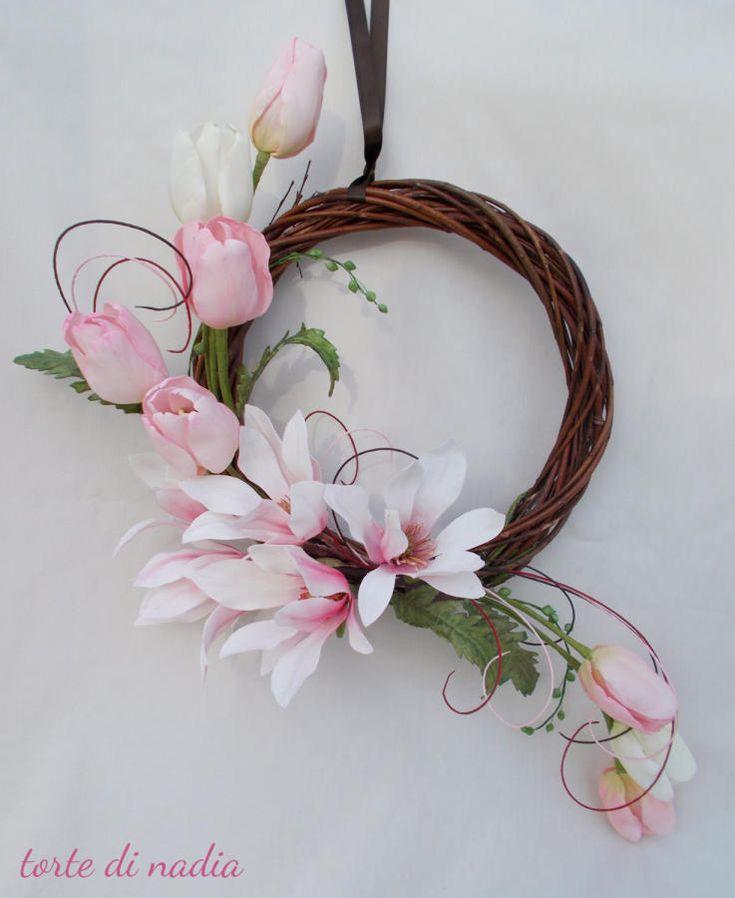 sugar flowers magnolia & tulip