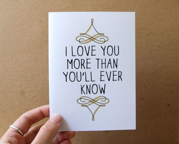 I Love You More Than You Know Quotes: 94 Best Images About How Much I Love You! On Pinterest