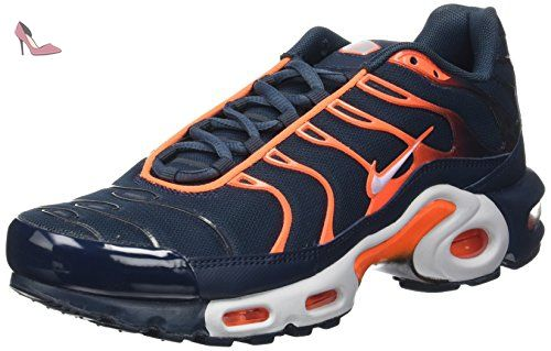 Nike Air Max Plus, Les formateurs homme, Bleu (Armory Navy/pure Platinum/tart/wolf Grey), 40 EU - Chaussures nike (*Partner-Link)
