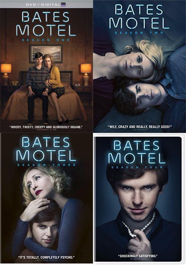 Bates Motel Seasons 1 4 Dvd Bates Motel Bates Hotel Bates