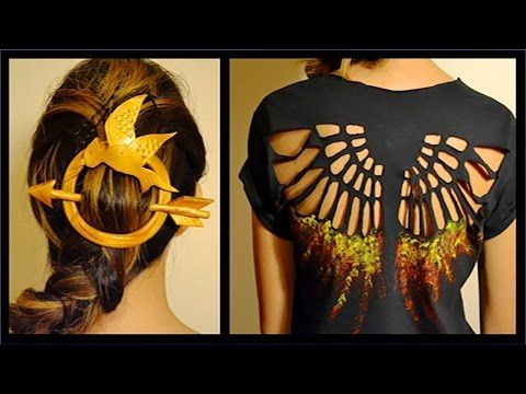 How To: Hunger Games Shirt and Hair Pin (with Pictures)