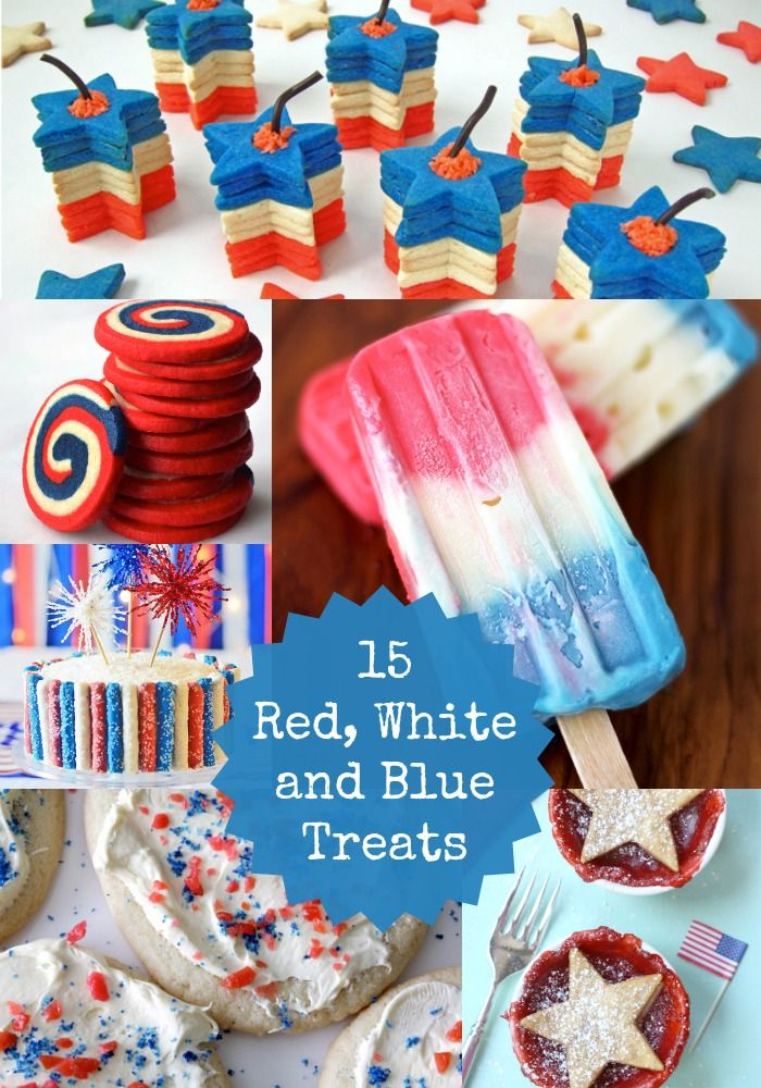 Red, White  Delicious: 15 4th of July Desserts!