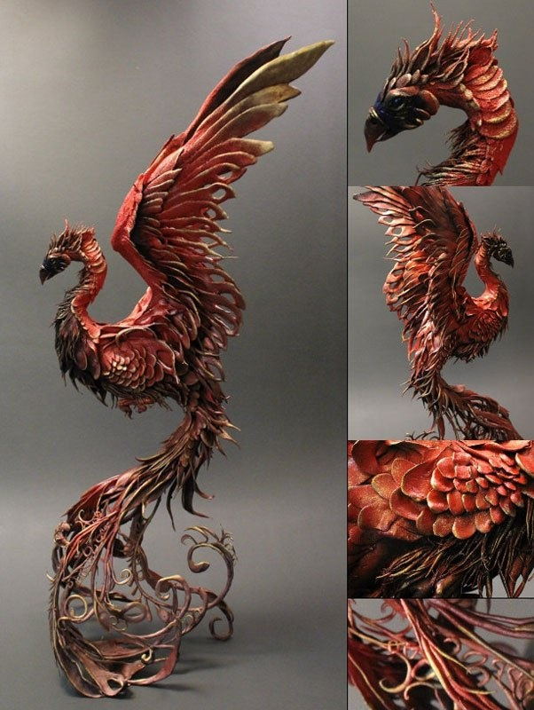 Handmade Fantasy Creatures Sculpted by Ellen Jewett