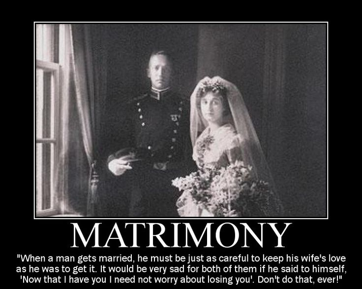 The rule of matrimony