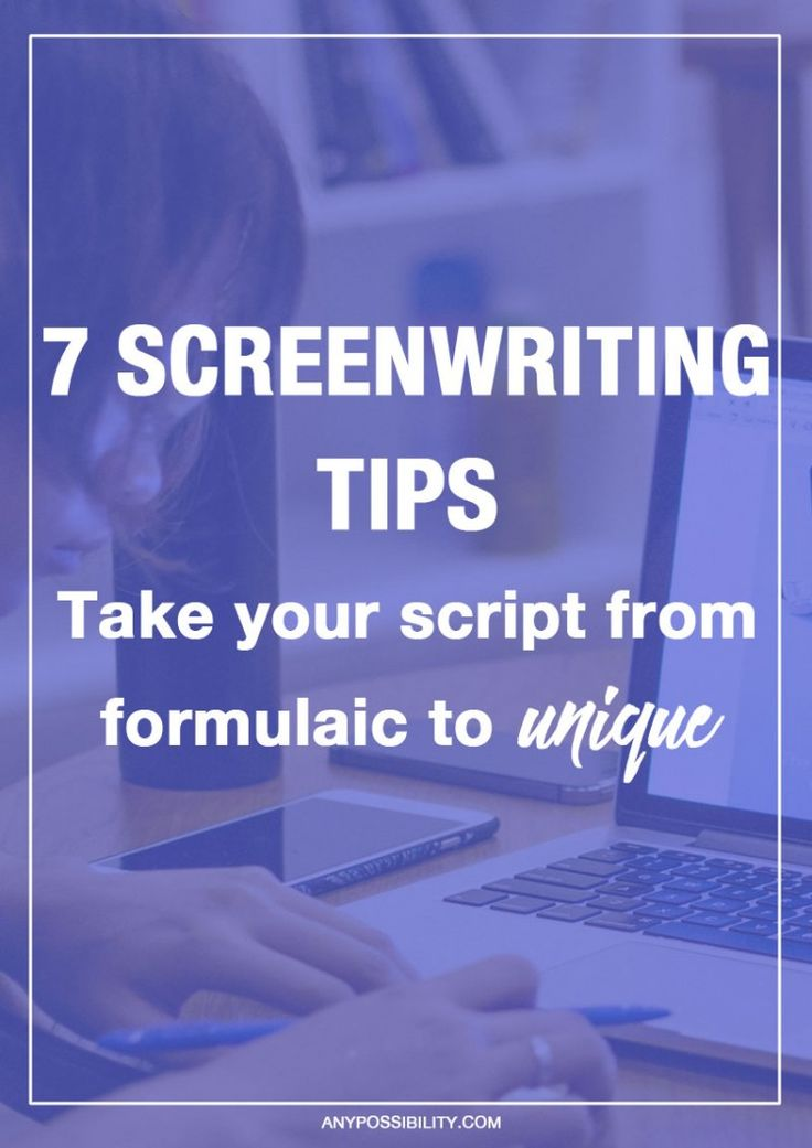 screen writing tips Final draft screenwriting software contains a suite of tools to help you create a script like the pros writersdigest sites writer's digest writer's digest university writing tips if you dream of making it in hollywood.