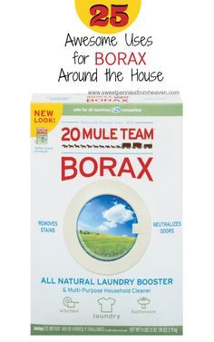 25 Awesome Uses for Borax Around the House