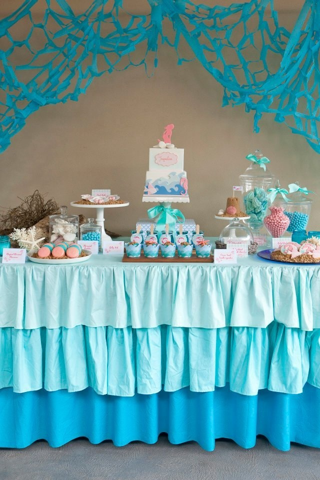 Need to figure out how to have a tablecloth like this made! Love it!