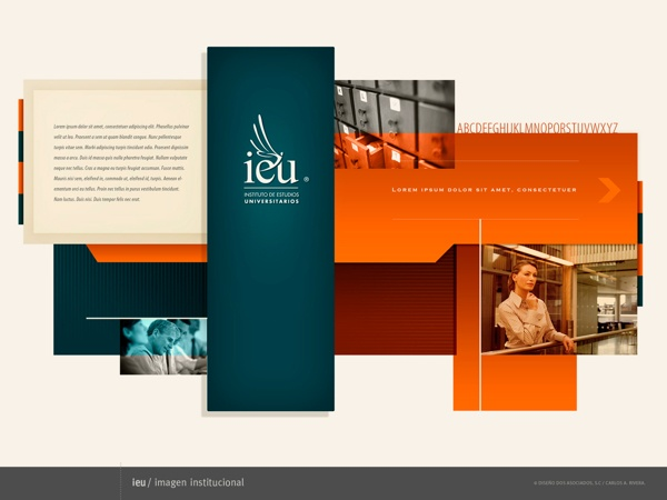 Mapa Visual IEU by RiveraCarlos Disegno, via Behance