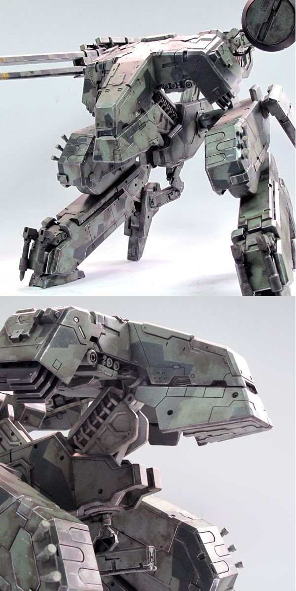 Cool Robot! Metal Gear Solid Rex from Three A