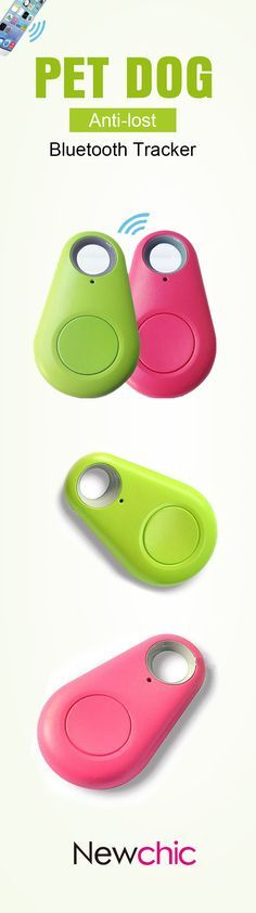 US$4.77 Pet Dog Anti-lost Tracker Smart Bluetooth Tracer Locator Tag Alarm Tracer Finder