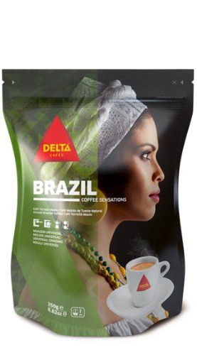 Delta Roasted Ground Coffee, Brazil | Brazil Coffee Facts