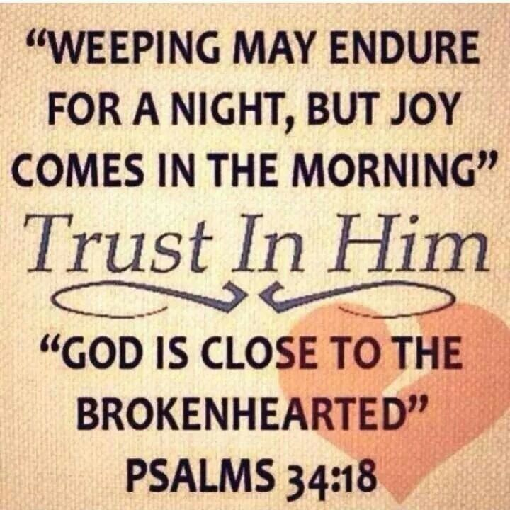 10 best woman thou art loosed images on pinterest christian quotes weeping may endure for a night but joy comes in the morning trust in him god is close to the brokenhearted find this pin and more on woman thou art fandeluxe Image collections