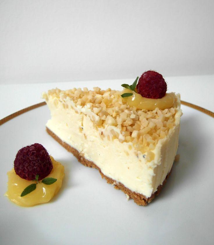 sernik, sernik bez pieczenia, sernik z biała czekoladą, sernik na ciasteczkowym spodzie, łatwy sernik , wielkanoc , święta , Kraków