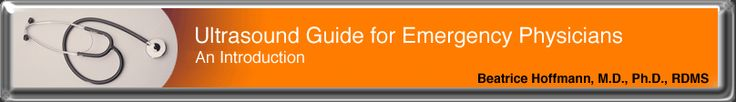 Ultrasound Guide for Emergency Physicians (EXCELLENT teaching site with videos!!)