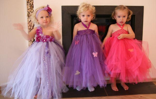Cheap 2014 venta caliente bebé Frock diseño Tutu largo Baby Girl Crochet Top Girls ' vestido de flores 12 set/lote, Compro Calidad Vestidos directamente de los surtidores de China:                         Posh vestidos del verano del bebé vinchas emparejados 2 capas Glitter Tutu Dress