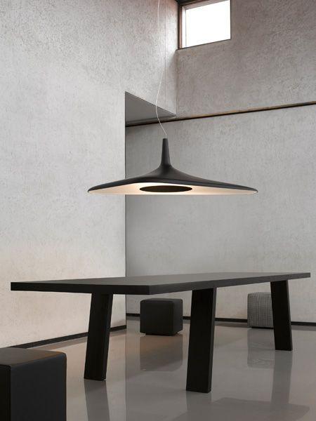 Luceplan hanglamp D89s Soleil Noir door Odile Decq   Designlinq