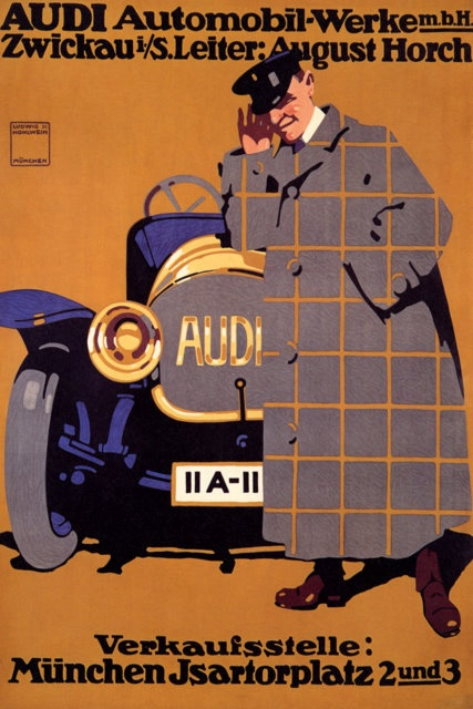 cool old audi poster (mapo65 by Rodney's Prints, via Flickr) $8