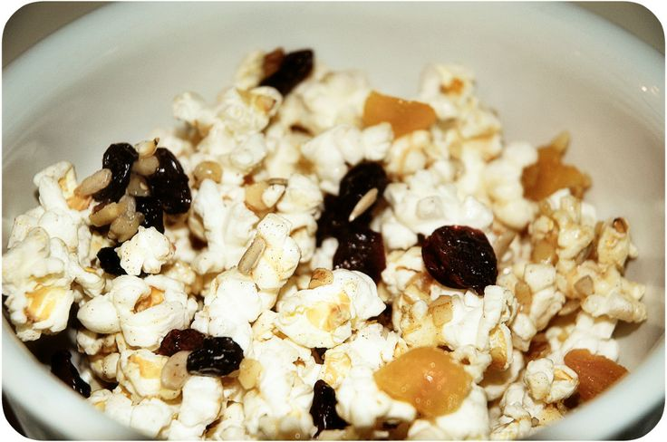 Pass the Trail-Mix Popcorn, Please {recipe} - Following In My Shoes ...