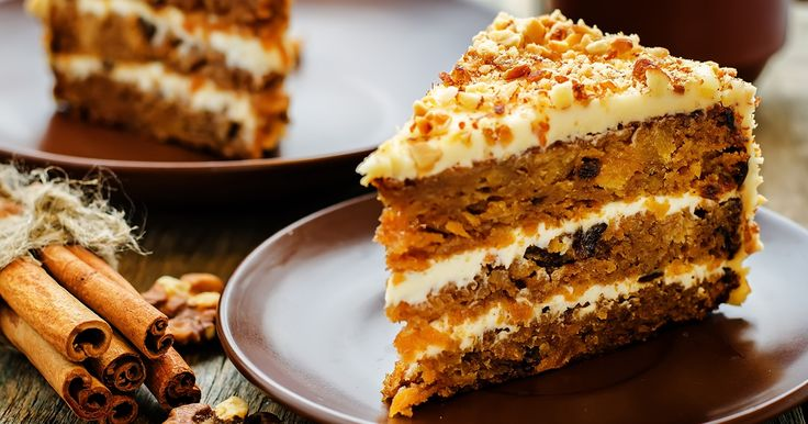 This carrot and walnut cake recipe is the perfect delicious treat with a cup of tea.