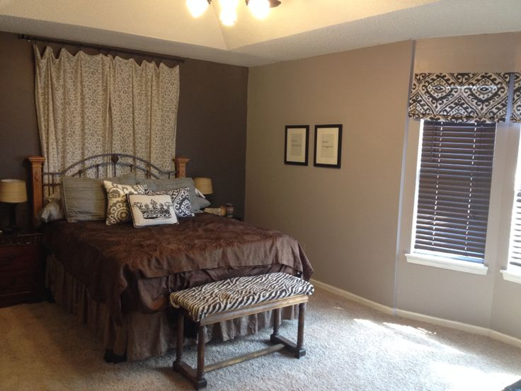 Best 25+ Curtains behind bed ideas on Pinterest | Curtain ...