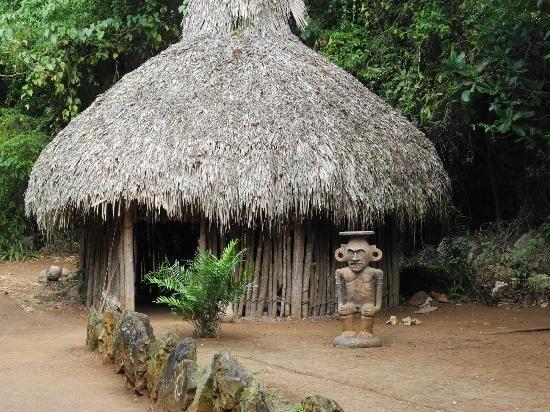 TAINO Indian Hut -Bohio | TAINO INDIANS (Seneko Kakona ...