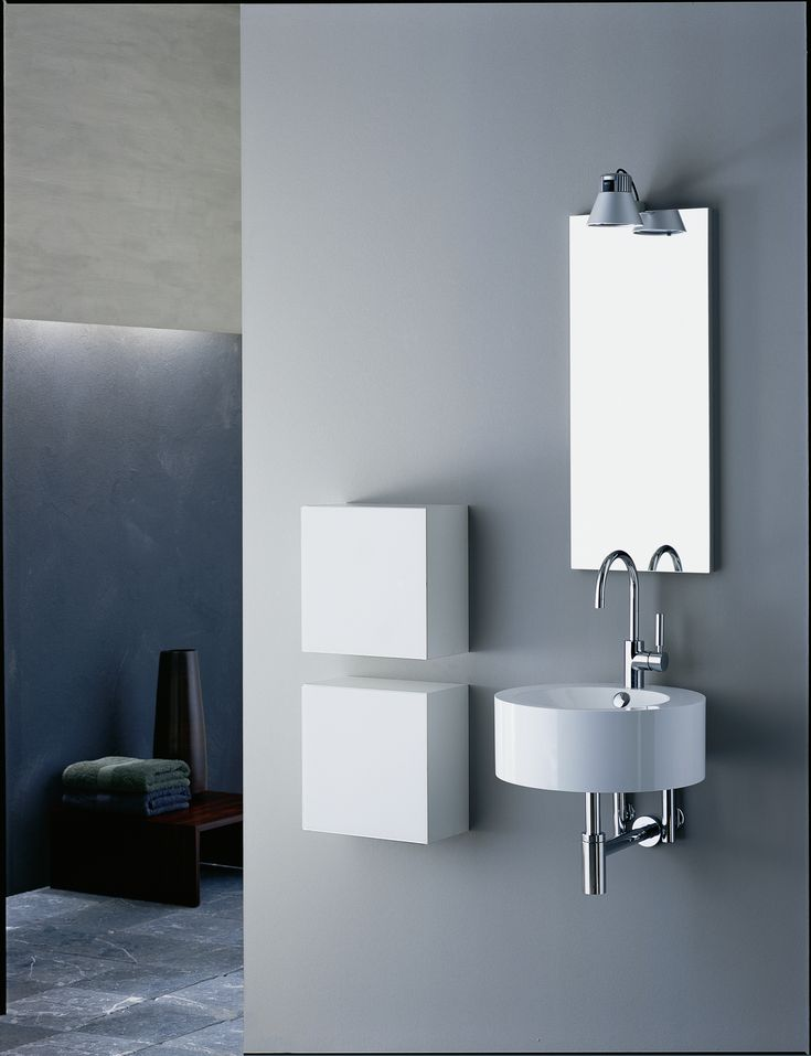 Alape offers extremely generous and multifaceted solutions for the smallest bathrooms and guest toilets.