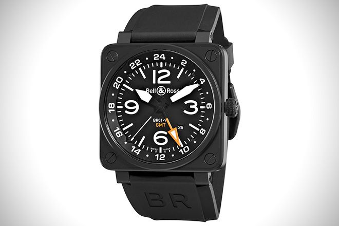 Bell & Ross GMT Aviation Dial Watch