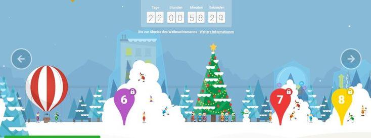Santa Tracker: Googles interaktiver Adventskalender - SPIEGEL ONLINE