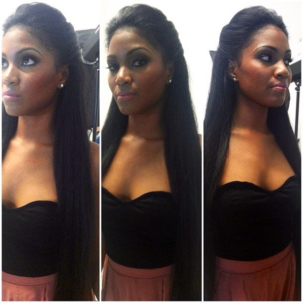 Model @only1_tsb ! Can your natural sew in do this ... - schacle @ Instagram Web Interface - 5th village