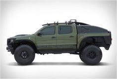 TOYOTA TACOMA POLAR EXPEDITION TRUCK - http://www.gadgets-magazine.com/toyota-tacoma-polar-expedition-truck/