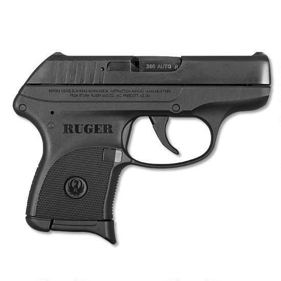 "Our best-selling gun for April 2016 is the Ruger LCP .380 ACP. It has a 2.75"" barrel, holds 6 rounds and has fixed sights. Only $209!"