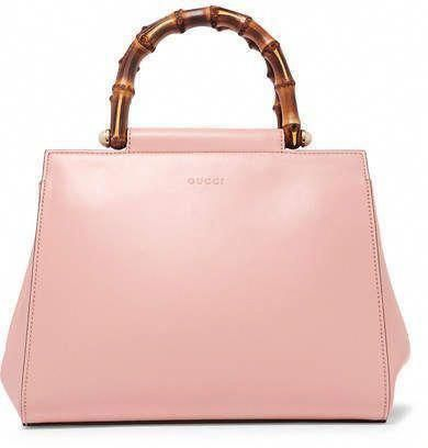 fd1e9238df Gucci - Nymphaea Bamboo Small Leather Tote - Pink #gucci #ShopStyle  #MyShopStyle click link for more information #Guccihandbags
